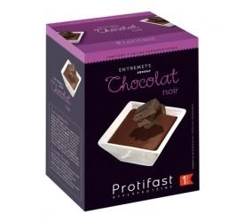 Pudink tmavá čokoláda